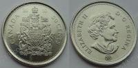 Канада. 50 центов. 2010. UNC