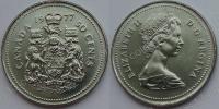 Канада. 50 центов. 1977. UNC