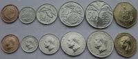 Самоа. Набор. 6 монет. Флора. UNC