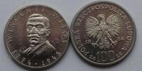 Польша. 100 злотых. 1984. Винценты Витос. UNC