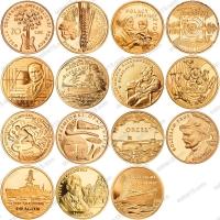 Польша. 2 злотых. 2012. Полный годовой набор. 15 монет. UNC