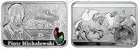 Польша. 2012. 20 злотых. ПётрМихаловский [польские художники XIX—XXвв.]. Серебро 925. 28,28 г. Proof. В капсуле
