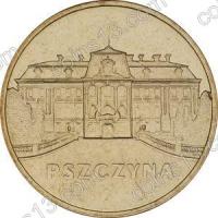 Польша. 2006. 2 злотых. #120. Пщина [исторические города Польши]