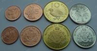 Гамбия. 1998. Набор. 4 монеты. Животные. UNC