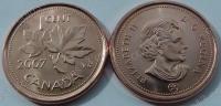 Канада. 1 цент. 2007. UNC