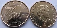 Канада. 1 доллар. 2009. Хоккейный клуб Montreal Canadiens. Спорт. UNC