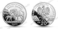 Польша. 2014. 20 злотых. Польский коник [животный мир]. Серебро 925. 28,28 г. Proof. В капсуле