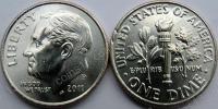 США. 10 центов. 2011. P. (Dime). UNC