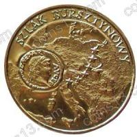 Польша. 2001. 2 злотых. #039. Янтарный путь [история]