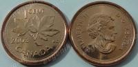 Канада. 1 цент. 2003