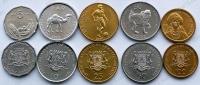 Сомали. Набор. 5 монет. Животные. UNC