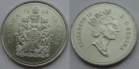 Канада. 50 центов. 1999. UNC