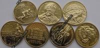 Польша. 2 злотых. 1998. Полный годовой набор. 7 монет. UNC