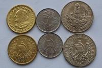 Гватемала. Набор. 3 монеты. UNC