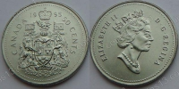 Канада. 50 центов. 1995. UNC