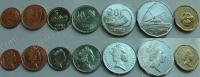 Фиджи. Набор. 7 монет. 1 цент-1 доллар. UNC