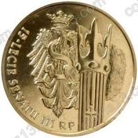 Польша. 2004. 2 злотых. #073. 15-летие Сената Республики Польша [даты]