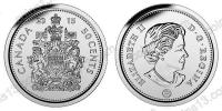 Канада. 50 центов. 2015. UNC