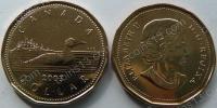 Канада. 1 доллар. 2003. Утка. Животные. UNC