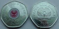 Папуа Новая Гвинея. 50 тоэ. 2008. 35 летие Банка Папуа Новой Гвинеи. Цветная. UNC