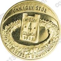 Польша. 2009. 2 злотых. #173. Выборы 4 июня 1989 года [даты]
