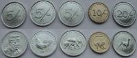 Сомалиленд. 2005. Набор. 5 монет. Животные. UNC