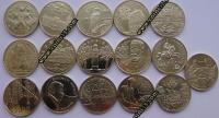 Польша. 2 злотых. 2008. Полный годовой набор. 16 монет. UNC