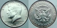 США. 50 центов. 1969. Кеннеди. D. Серебро. UNC. В холдере