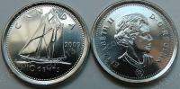 Канада. 10 центов. 2009. Парусник. UNC