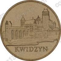 Польша. 2007. 2 злотых. #130. Квидзын [исторические города Польши]