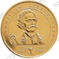 Польша. 2003. 2 злотых. #062. Станислав Лещинский (1704-1709, 1733-1736) [польские короли]