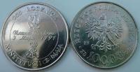 Польша. 1991. 10000 злотых. 200 лет конституции Польши. UNC