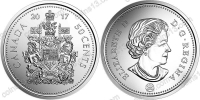 Канада. 50 центов. 2017. UNC