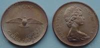 Канада. 1 цент. 1967. 100 лет Конфедерации