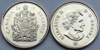 Канада. 50 центов. 2013. UNC