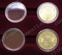 Планшет PO48 с 48 капсулами под монеты ГВС (диаметр капсул 22 мм)