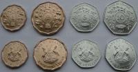 Уганда. 1987. Набор. 4 монеты. UNC