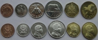 Малави. Набор. 6 монет. Животные. UNC