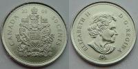 Канада. 50 центов. 2009. UNC
