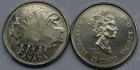 Канада. 25 центов. 2002. День Канады - Кленовый лист. UNC