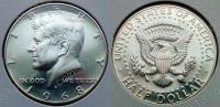 США. 50 центов. 1968. Кеннеди. S. Серебро. Proof. В холдере