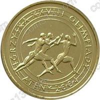 Польша. 2004. 2 злотых. #078. Афины 2004. XXVIII Летние Олимпийские игры 2004[спорт]
