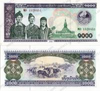 Лаос. 2003. 1000 кип. UNC / пресс