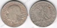 Польша. 2 злотых. 1932. Ядвига. VF/XF