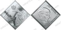 Польша. 2003. 20 злотых. Иоанн Павел II - 25 лет понтификата [личности]. Серебро 925. 28,28 г. Proof. В капсуле