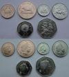 Гернси: Набор. 6 монет. Современные монеты. Животные. UNC