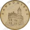 Польша. 2006. 2 злотых. #121. Сандомир [исторические города Польши]