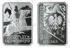 Польша. 2007. 10 злотых. Рыцарь тяжеловооружённый. XV век [история польской кавалерии]. Серебро 925. 14,14 г. Proof. В капсуле