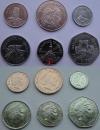 Джерси. Набор. 6 монет. UNC