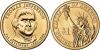 США. 1 доллар. Президенты. №03. 2007. Thomas Jefferson / Томас Джефферсон. D. UNC